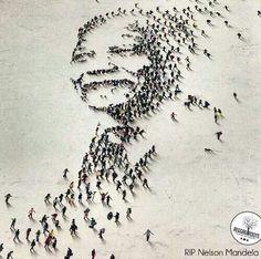 Nelson Mandela - Madiba Magic Nelson Mandela, Black Art, Black And White, Found Object Art, African Diaspora, Freedom Fighters, Gcse Art, Jolie Photo, Shades Of Black