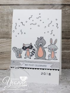 We must Celebrate by Stampin' Up!