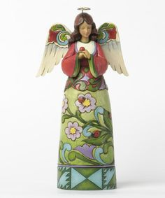 Look what I found on #zulily! Ladybug Angel Figurine #zulilyfinds
