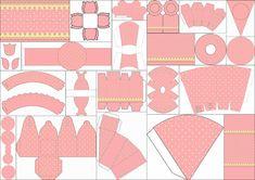 Rosado y Amarillo: Completo Kit para Fiestas para Imprimir Gratis. | Oh My Bebé!