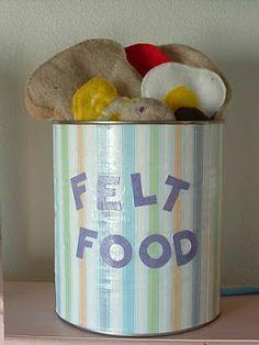 Lots of Felt Food Patterns (free)