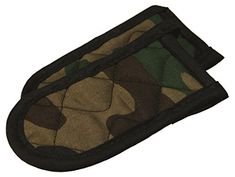 Lodge Hot Handle Holders/Mitts, Camo, Set of 2 *** Check this awesome product by going to the link at the image. Cookware Accessories, Hot Hands, Lodge Cast Iron, Linen Store, Stocking Stuffers, Camouflage, Sunglasses Case, Outdoor Blanket, It Cast