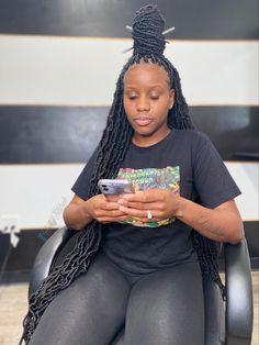 Black Hair Updo Hairstyles, Feed In Braids Hairstyles, Hair Ponytail Styles, Braids Hairstyles Pictures, Black Girl Braided Hairstyles, Black Girl Braids, Baddie Hairstyles, Braids For Black Hair, Girls Braids
