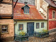 Golden Street, Prague, Czech Republic