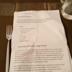 #principiodipareto  # parto #8020 #grazie #emilianogiulianini #studiando prima di #mangiare