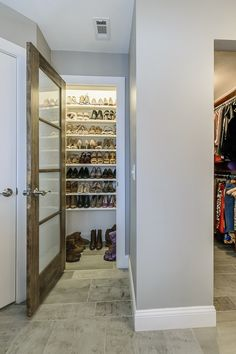 After five years of Jacksonville real estate photography, the 3 bedrooms 2 bath homes kinda look the same.  One starts to notice little differences... like this fun shoe closet!