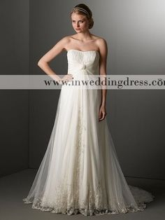 Inweddingdress BC327. I love the old-fashioned feel of this dress.