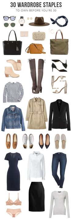 @TheSteeleMaiden - 30 Wardrobe Staples to Own Before You're 30 Years Old