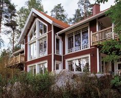Post And Beam, House In The Woods, Homesteading, Beams, Houses, Cabin, Country, Architecture, House Styles