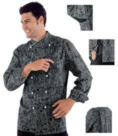 camisas de chef modelos - Buscar con Google cd8b687faa7c