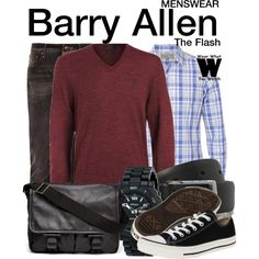 Inspired by Grant Gustin as Barry Allen on The Flash.