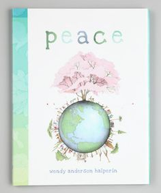 Take a look at this Peace Hardcover by Simon & Schuster on #zulily today!