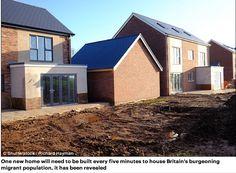 La moitié des nouvelles constructions de maisons dans les cinq prochaines années sera destinée aux seuls migrants