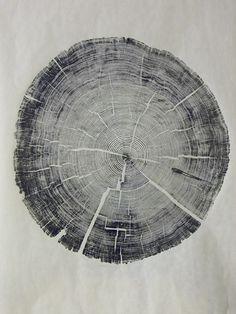 Gravura/impressão madeira.