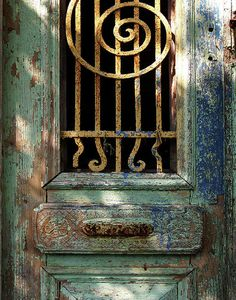French Antique Door.