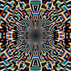 The highs and lows of a time traveling art editor Cool Optical Illusions, Art Optical, Psychedelic Art, Acid Trip Art, Trippy Gif, Night Sea, Animation Tutorial, Character Design Animation, Illusion Art