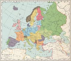 Europe after a Central Powers victory by 1Blomma on DeviantArt