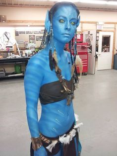 So my friend was an avatar last night - Imgur