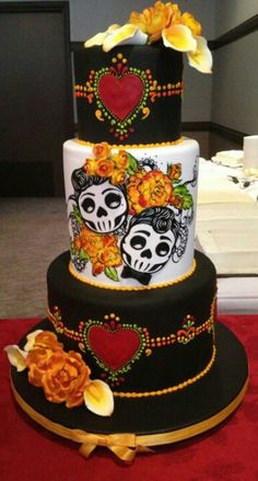 Calaca Cake