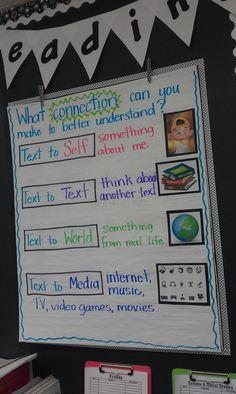 making connections #school ideas reading, math, etc