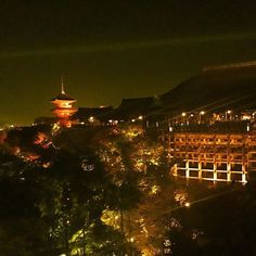 Instagram【himenyany】さんの写真をピンしています。 《夜間拝観③ . #kyoto #goodplace #beautiful #ig_japan #likes #autumn #iPhonepic #lovers_nippon  #temple #nature  #kaede #contrast #art_of_japan_  #wu_japan #love #japan #写真 #京都 #写真好き #カメラ女子 #instagood #スマホ写真部 #紅葉 #そうだ京都へ行こう #清水寺 #夜間拝観 #夜景 #ライトアップ》
