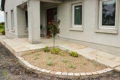 Sandstone Doorway and Planting. Garden Design, by Tom Leavy_ Leavy Landscaping. Landscape Design, Garden Design, Ireland Landscape, Doorway, Planting, Garden Landscaping, Construction, Outdoor Decor, Home Decor