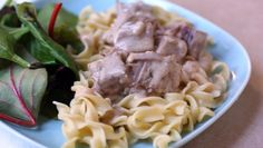 "Blogger Cheri Liefeld of Adventures in the Kitchen shares a recipe for a ""healthified"" Slow Cooker Beef Stroganoff."