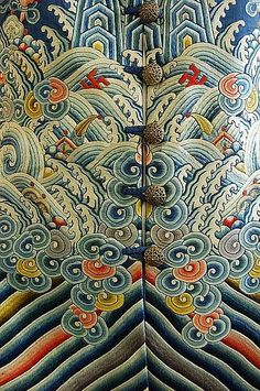 An Imperial dragon robe, jifu, Chinese, 19th century                                                                                                                                                                                 More