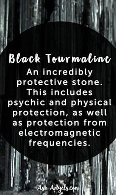 Black tourmaline is well known to be an incredibly protective stone. This includes psychic and physical protection, as well as protection from electromagnetic frequencies. Bb Also great for grounding, balancing the root chakra Crystal Magic, Crystal Healing Stones, Crystal Grid, Quartz Crystal, Auras, Crystals And Gemstones, Stones And Crystals, Gem Stones, Black Crystals
