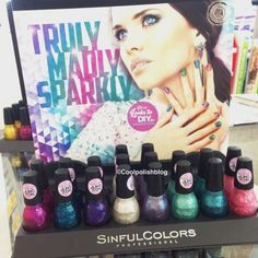 Spotted: NEW Sinful Colors Truly Madly Sparkly Collection | Nouveau Cheap