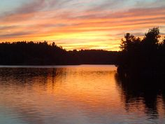 Sunrise on Galeairy Couples Resorts, Algonquin Park, Natural Beauty, Sunrise, Celestial, Nature, Outdoor, Outdoors, Naturaleza