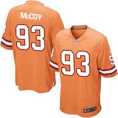 Nike Limited Gerald McCoy Orange Youth Jersey - Tampa Bay Buccaneers  93  NFL Alternate ab4396919