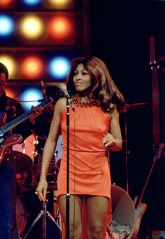 SPECIAL Episode 1 Aired 2/2/73 Pictured Tina Turner Revue sing 'I Can't Turn You…