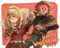Cute Hiccup x Astrid