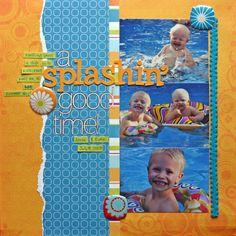 A Splashin' Good Time! - Scrapbook.com