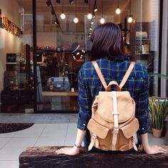 Th Dawson Backpack, styled by you.