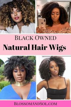 Your search for finding quality BALCK-OWNED NATURAL HAIR WIGS is OVER! We've rounded up the 10 best natural hair wig brands and natural hair clip in brands.    #NaturalHair #NaturalHairJourney #ProtectiveStyles #NaturalHairstyles #NaturalHairCare #ProtectiveStylesForNaturalHair #ProtectiveStylesForTransitioningHair #WigsForBlackWomen Natural Hair Wigs, Long Natural Hair, Natural Haircare, Natural Hair Journey, Natural Hair Styles, Heat Free Hairstyles, Wig Hairstyles, Protective Hairstyles, African American Hairstyles
