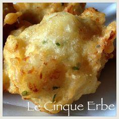 Frittelle di baccalà - cod fritters
