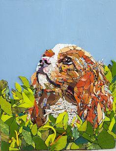 Mosaic Diy, Mosaic Crafts, Mosaic Projects, Mosaic Glass, Glass Art, Mosaic Ideas, Stained Glass, Mosaic Animals, Glass Animals