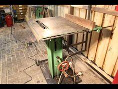 Bau einer Tischkreissäge, Eigenbau Tischkreissäge für 100€ - YouTube
