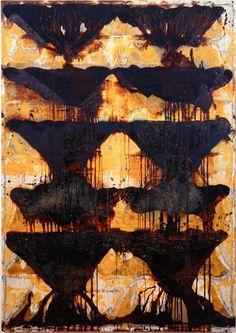 SANS TITRE Jean-Pierre Pincemin 1995 Technique mixte sur toile