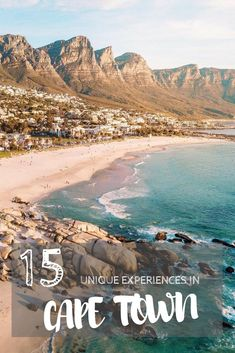 15 Unique Experiences In Cape Town