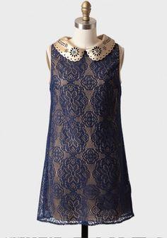 royal empire lace tunic dress