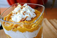 Eat Yourself Skinny » Pumpkin Mousse Shooters