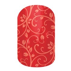 LOVE LOVE!! Orange floral on Poppy Jamberry Nail Wraps - Buy Jamberry Nails. Apply with a hair dryer at home, no paint, no mess, with a salon look that lasts 2-6 weeks on fingers and toes. AMAZING! Ask for a sample!
