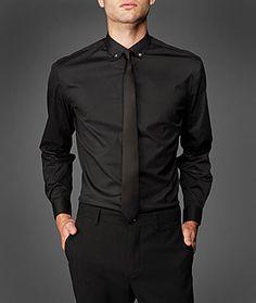 Black On Black Dress Shirt | Is Shirt
