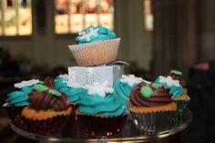 Cupcake stall at Church Christmas Fayre