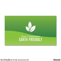 Eco Friendly Business Card #earthfriendly #leaves #businesscards #businessowner #ecofriendly #natural #nature #green #conservation #recycle