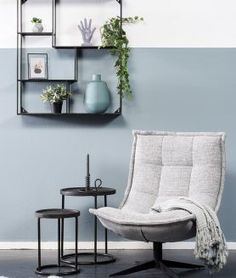 Swivel chair Spider by Coming Lifestyle - Pure Wood - Time to sit down and relax! Swivel armchair Spider is available in different fabric and leather typ - Living Room, Home Living Room, Interior, Home, Small Living Room, Home Deco, Living Room Grey, Classic Bedroom, Home And Living