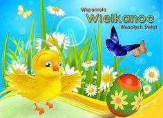 Wielkanoc: Animowane kartki wielkanocne z życzeniami Tweety, Pikachu, Easter, Animation, Blog, Fictional Characters, Anna, Holidays, Beautiful